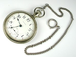 Watch with chain